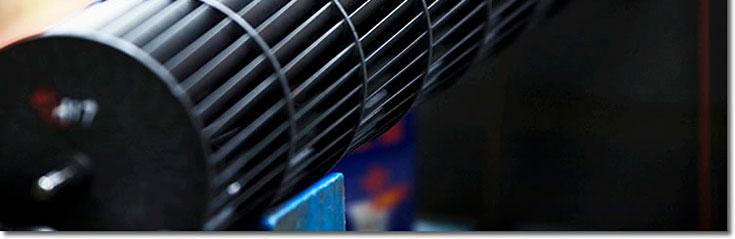 长虹空调内机采用新型斜片式贯流风扇