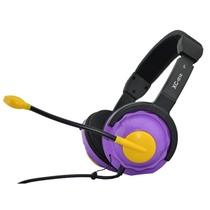 意高(ECHOTECH)XC-α10 耳机 耳麦 头戴式耳麦(360°可旋转式麦克风,采用新型工艺特制的高磁扬声器,钢磁直径20mm)