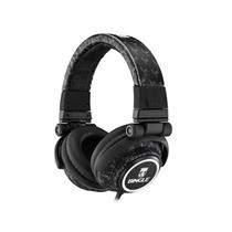 宾果(Bingle)i365耳机头戴式耳机麦克风(全迷彩个性,风大气的皮革头带旋转折叠式头带,多维度铁和使用,低频震撼且厚实,适用各苹果设备)