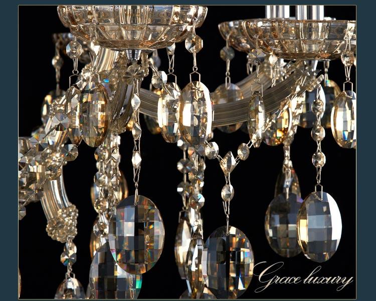 欧式吊灯时尚奢华水晶吊灯客厅灯饰餐厅灯具cl10156详情 京东