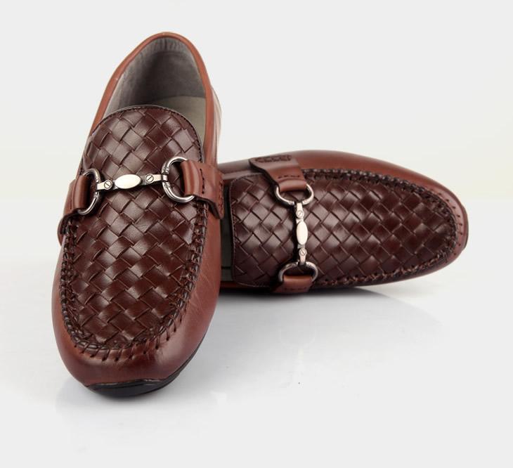 simier斯米尔英伦豆豆鞋男士驾车懒人套脚休闲鞋1301