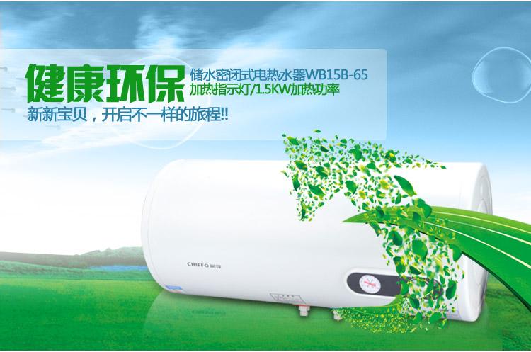 前锋电热水器 wb15b-40/50/65/80/100(40l)