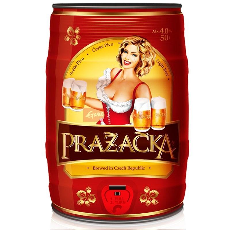 捷克原装进口啤酒 捷克威尔皇家清啤酒5l桶装【图片
