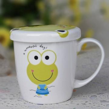 可爱卡通马克杯 情侣杯(青蛙)