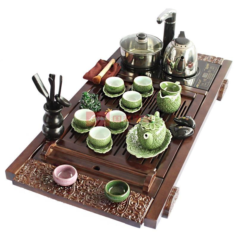 欧式茶具陶瓷 复古创意茶具套装
