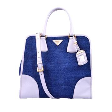 蓝色女士包【图片