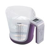 香山(CAMRY)EK6331 厨房电子秤  多功能量杯秤(紫色)