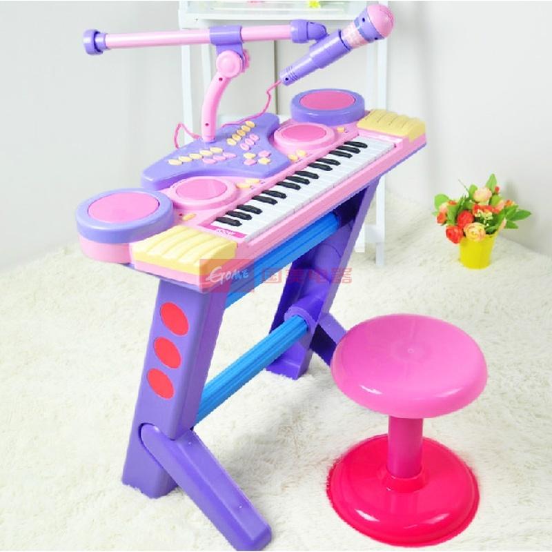 锦兴贝芬乐37键儿童电子琴音乐宝宝益智玩具小钢琴22802