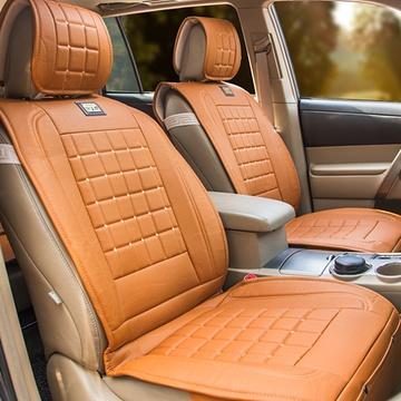 爱图腾 汽车坐垫 夏季座垫 四季通用新款皮革车垫用品