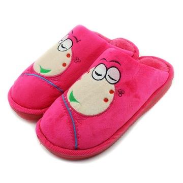 青蛙头棉拖鞋(红色 270)