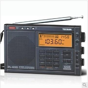 pl-600便携式全波段数字调谐收音机中波