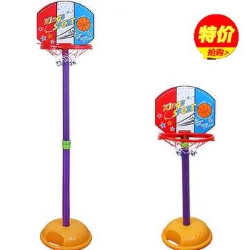 运动公园室内篮球框投篮架 儿童篮球架可升降宝宝大号