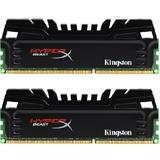 金士顿 骇客神条 野兽T3 16G DDR3 2400内存套装KHX24C11T