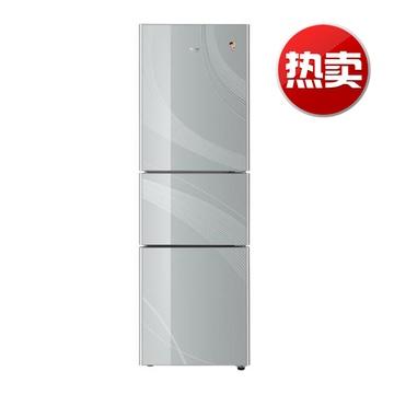 【海尔bcd-206stcm(钻石红)冰箱】海尔(haier)bcd-206