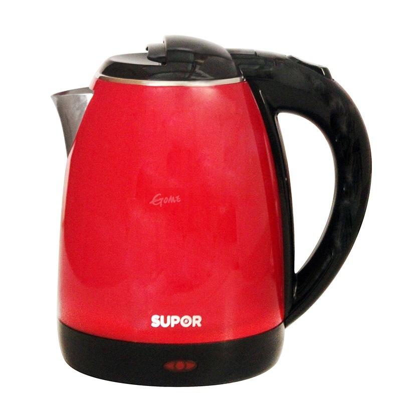 苏泊尔(supor)swf15s06a双层防烫电热水壶烧水壶