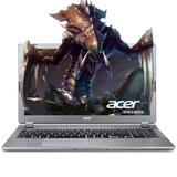 宏�(acer)V5 573G 15.6英寸笔记本电脑 四代i5/i7处理器 GT750 4G独显 1080分辨率(银色高清GT850 2G独显 官方标配)