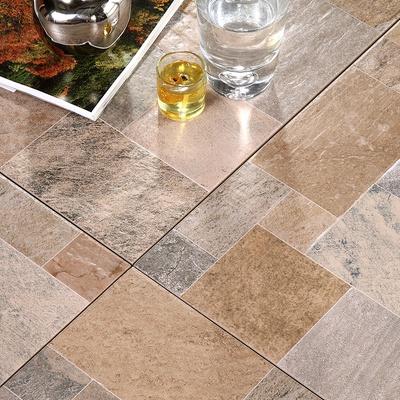 厨房卫生间墙砖组合木纹防滑地面