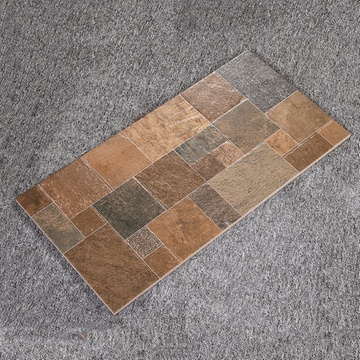 地砖厨卫厨房卫生间墙砖组合木纹防滑地面