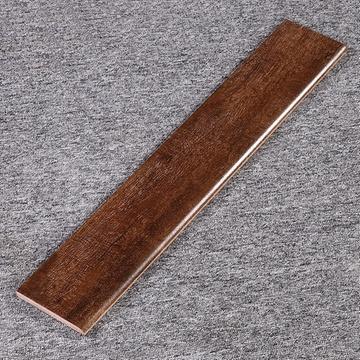 楼兰瓷砖 地脚线客厅卧室餐厅书房哑面木纹砖踢脚线 瓷砖建材巴比伦古