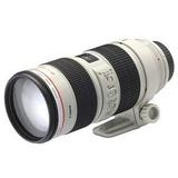 佳能(Canon)EF 70-200mm f/2.8L IS II USM镜头(白色 官方标配)