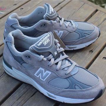 new balance 新百伦nb新款男子休闲慢跑鞋m991gl(灰色 40)图片
