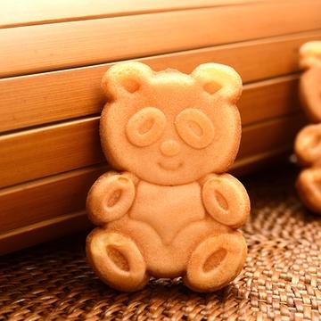 盼盼 小熊蛋糕285g盒装 可爱公仔熊糕点早餐下午茶点心 休闲零食奶香