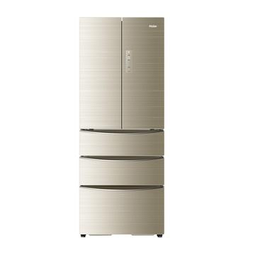 海尔(haier)bcd-360wdcn360升变频风冷无霜五门冰箱(金色)