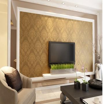 米素壁纸 高档欧式大马士革墙纸 卧室客厅电视背景墙壁纸 蒂丝尼(sy48