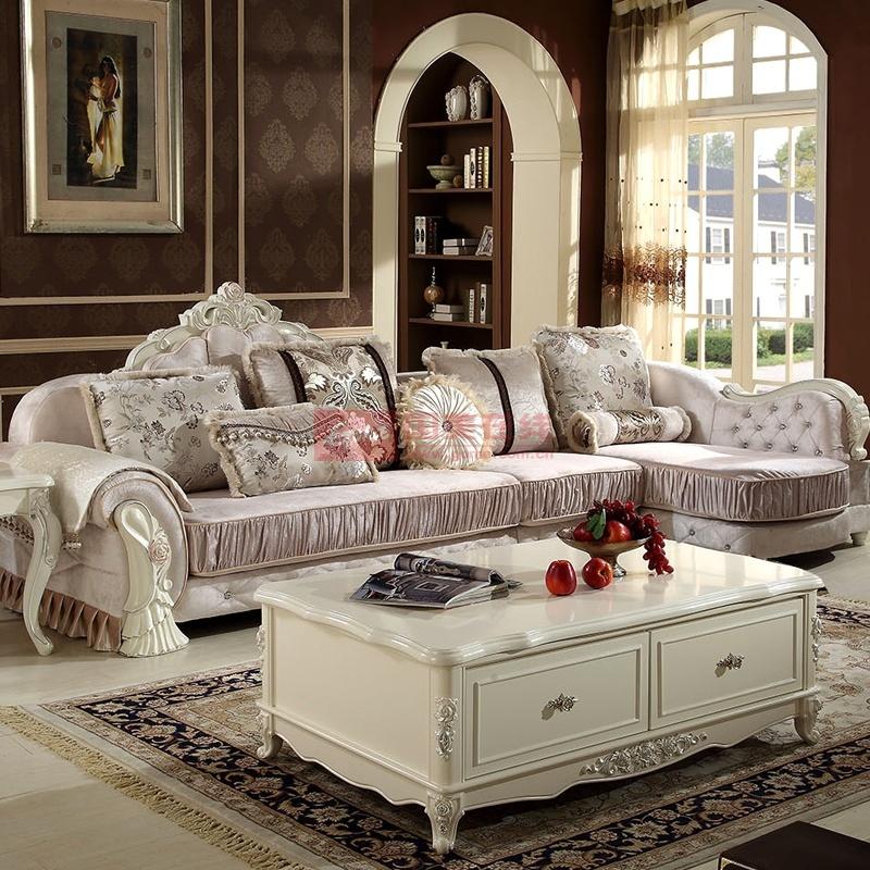 欧式沙发(图片色 1 2 贵妃)图片展示-国美在线