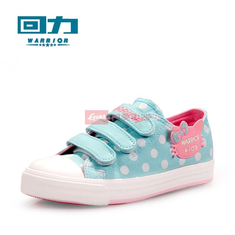 回力*儿童帆布鞋女童布鞋宝宝板鞋可爱卡通休闲鞋韩版