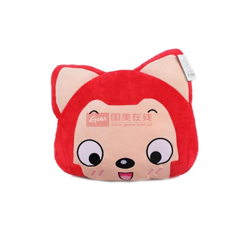 国美为您找到 大号可爱ali阿狸抱枕毛绒玩具公仔布娃娃(阿狸表情-呆萌