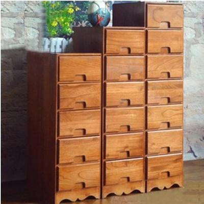 【京好】床头柜子 选择五六七斗欧式卧室木质书桌衣鞋橱厨碗酒边吊角