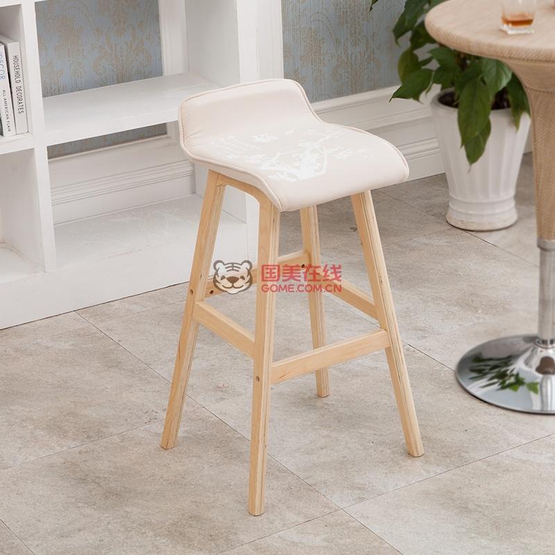 电脑椅子实木休闲椅