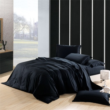 黑色床卧室搭配