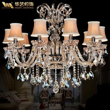 华艺灯具 水晶灯客厅餐厅欧式吊灯卧室灯饰