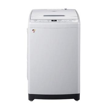 海尔(haier) xqb75-m1268关爱 7.5公斤全自动波轮洗衣机(银灰)