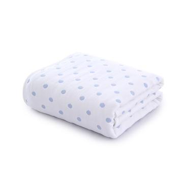 图强新生婴儿浴巾宝宝儿童正方形抱被宝宝毛巾被童被