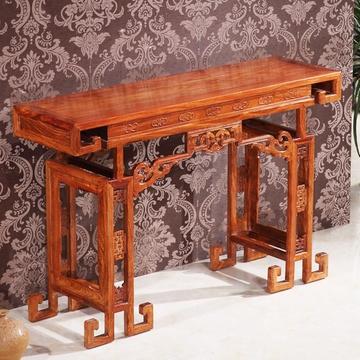 总经理 红木八角台 花梨木装饰桌 边桌 茶几