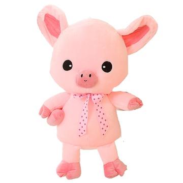 粉色小猪公仔布娃娃毛绒玩具创意猪抱枕三顺猪女生日