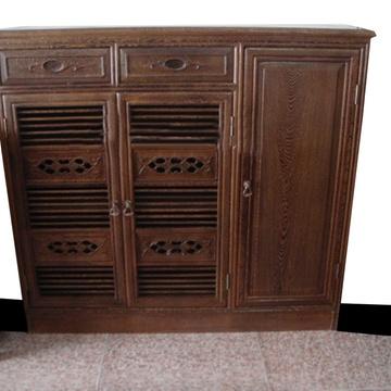 红木家具鸡翅木鞋柜纯实木储物柜子红木三门鞋柜门厅