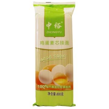 【滨州山东中裕挂面面】zhongyu中裕芥末麦芯挂面800g匡威鸡蛋图片