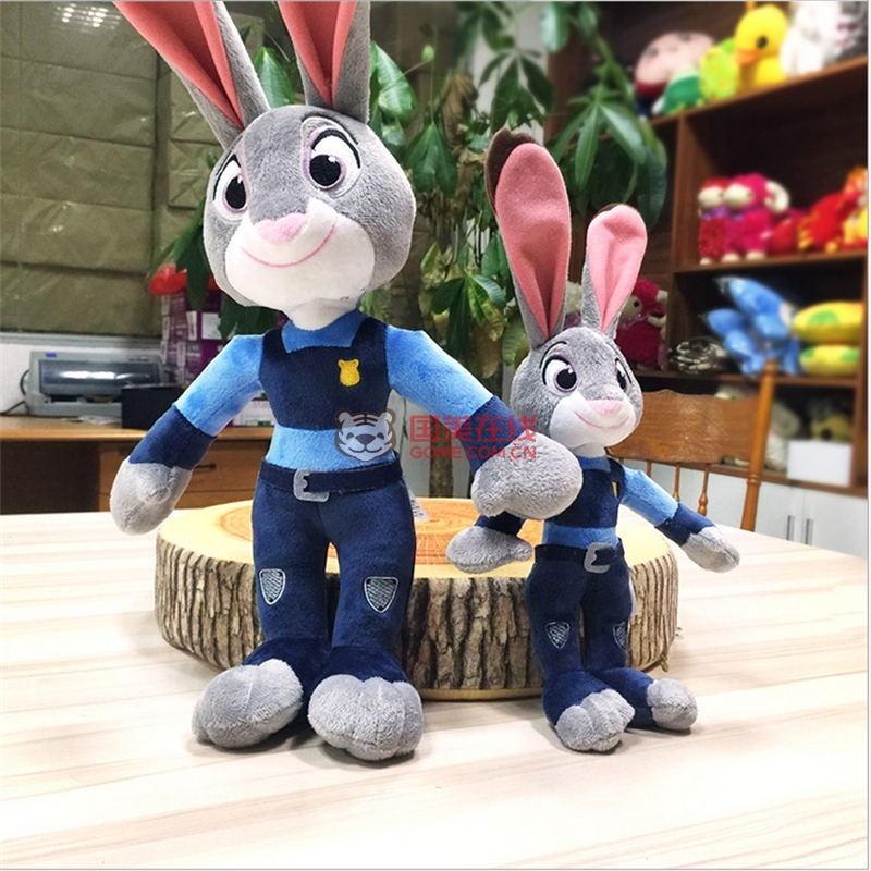 疯狂动物城公仔兔子朱迪30cm-国美在线