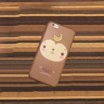 创意花样式小猴子手机壳6p
