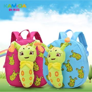 kamida咔米嗒幼儿园书包 可爱卡通糖宝书包小背包 宝宝书包(糖包毛绒