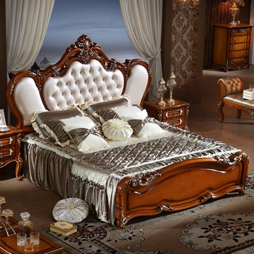 欧式古典双人床 1