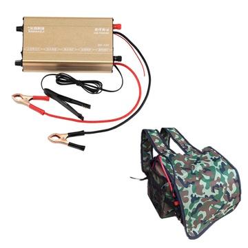 3000w-4000w大功率电鱼机 打鱼机 经典版68000w电子升压器变压器 电瓶