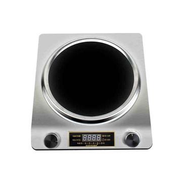 【冠为gw-30d12电磁炉/电陶炉】冠为商用电磁灶3500w