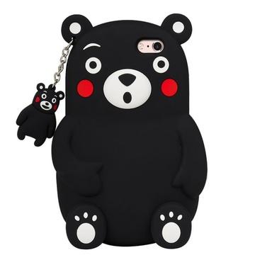亿和源iphone7立体熊本熊6s手机壳5.