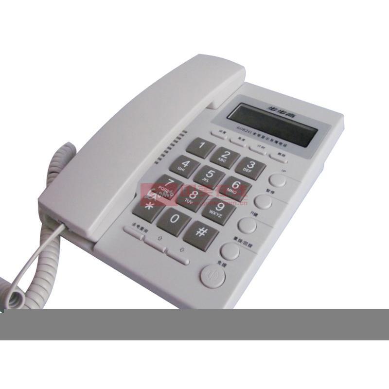 步步高 6082g 来电显示电话机(白色)图片展示-国美在线