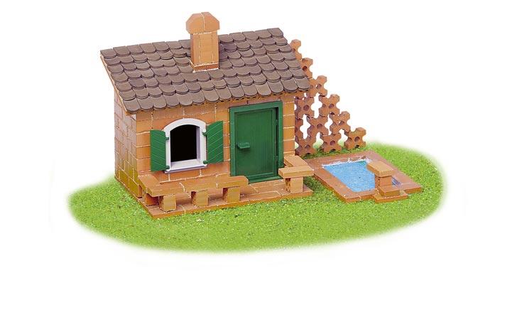 超轻黏土简单又可爱的房子图片